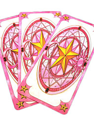 tarjetas set inspirado en Card Captor Sakura sakura mahou mágico (52 piezas)