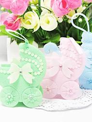 Lovely Baby pram favores bolsas de forma - juego de 12 (más colores)