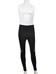 Kooplus Cycling Bib Tights Men's Bike Bib Shorts Pants/Trousers/Overtrousers Bib Tights BottomsQuick Dry Wearable Breathable Back Pocket