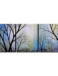 Hand-painted Oil Painting Landscape Oversized Landscape Set of 3