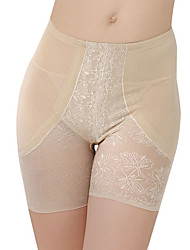 Chinlon mit Spitze High Waist Shaper Brief Täglich Wear Shapewear