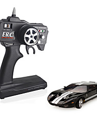 Mini-Z Firelap 1/28 4WD RC Ford GT mit 2.4G-Transmitter