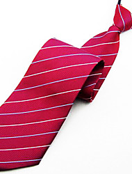 hommes à la mode cravate simple, rayures entreprise