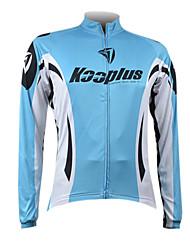 Kooplus Marine Rhythm Men's Cycling Long Sleeve Jersey
