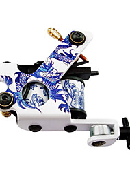 Porcelain Classic Tattoo Machine Gun