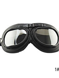 Outdoor Leather Riding Goggles