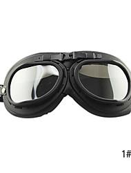 Couro exterior equitação Goggles