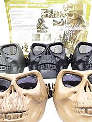 Airsoft High Intensity Kunststoff Full-Gesichtsschutz Skull Maske ohne Stirn (verschiedene Farben)