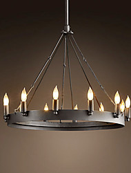 60W E27 Retro Style Iron Pendent Licht mit 12 Lights in Candle Funktion