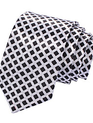 Men's Narrow Check Necktie(Width:5CM)