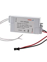 13-18W Dimmable LED driver à courant constant Source d'alimentation électrique (180-240V)