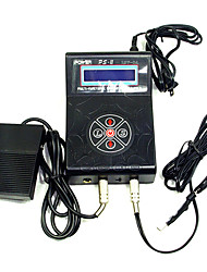 Adjustable Tatoo Power Supply LCD Screen Black
