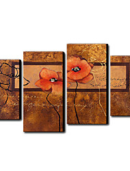 Hand Painted Oil Painting Abstract Set of 3 1211-AB0165