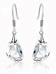 Women's Pea Crystal Earrings