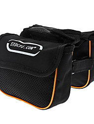 Bike BagBike Frame Bag Reflective Bicycle Bag Canvas Cycle Bag Cycling/Bike 16x4x12