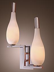 Стильный светильник с настенным креплением, 2 лампы