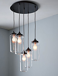 Max 60W Traditional/Classic / Vintage Pendant Lights Living Room / Dining Room