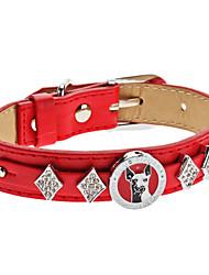 Cani Collari Rosso Cuoio