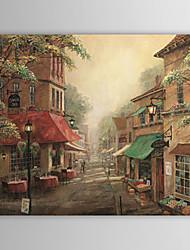 Ручная роспись пейзаж маслом