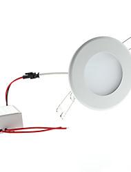 6W 6 High Power LED 700 LM Warm White LED Ceiling Lights AC 85-265 V