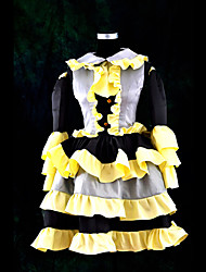 Inspired by Vocaloid Kagamine Len Video Game Cosplay Costumes Cosplay Suits Patchwork Yellow Top