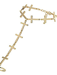 Women's Cross Fashion Rings Bracelet
