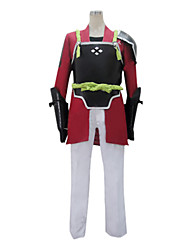 Inspired by Sword Art Online Klein Anime Cosplay Costumes Cosplay Suits Patchwork Long SleeveCoat Pants Gloves Underwear Belt Headband