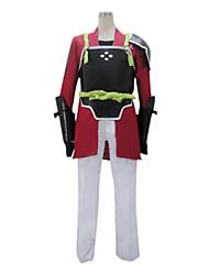 Inspirado por Sword Art Online Klein Anime Fantasias de Cosplay Ternos de Cosplay Patchwork Manga LongaCasaco Calças Luvas Roupa-Interior