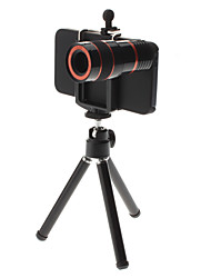 8X Zoom Telescope Lens with Stand and Hard Case for iPhone 5