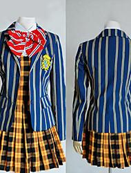 traje cosplay inspirado uta uniforme escolar não príncipe Haruka Nanami meninas Saotome Academy '