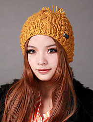 Deniso-1193 Women's Winter Knit Hat(Multi-Color Available)