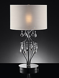 60W E27 Modern Table Lamp in Warm White Shade