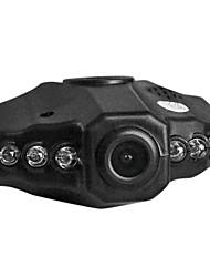 2,5 polegadas 120 graus Wide Angle Ver Apoio DVR carro LED Night Vision com microfone embutido