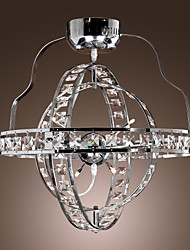 Crystal/Bulb Included Flush Mount , Modern/Contemporary Living Room/Bedroom/Study Room/Office/Kids Room Metal