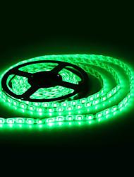 Vattentät 5M 300x5050 SMD Green Light LED Strip lampa (12V)