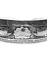 Arc-en forme de Phoenix Statue tibétaine Bracelet Argent