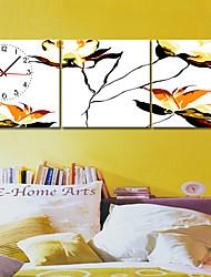 Modern Style Scenic Canvas Wall Clock 3pcs K208