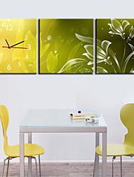 современный стиль живописный холст настенные часы 3шт K202
