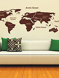 Mappa di Wall Stickers del Mondo