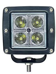 15W Square 4 luz de trabalho LED
