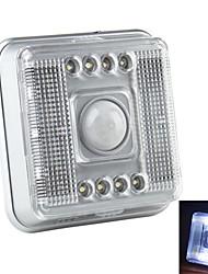 Luz 8-LED 2 Modos Blanca con Sensor Infrarrojo Activado por Movimiento (2xAA)