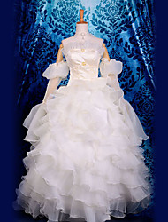 euphemia lujo volante vestido de traje de cosplay
