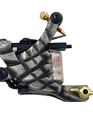 Damascus steel Tattoo Machine Gun both Liner and Shader