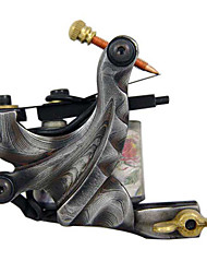 Damascus steel  Liner and Shader Tattoo Machine Gun