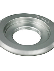 Silver lentes de montaje C para Micro 4/3 adaptador de E-P1 E-P2 E-P3 G1 GF1 GH1 GH2 G2 G3 GF2 GF3
