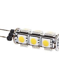 LED a pannocchia 13 SMD 5050 T G4 2W 180 LM Bianco caldo DC 12 V