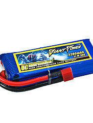 2200mAh 11.1V/3S 50C Lipo battery for RC model