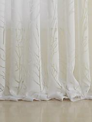 árbol clásico cortina escarpada (dos paneles)
