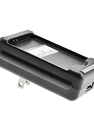 US Battery Charger with USB Output for Samsung Galaxy SII(I9100)