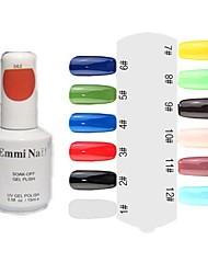 UV Color Gel Colorful Nail Polish (15ml,1 Bottle)